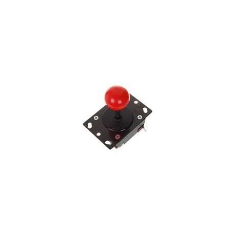 Joystick boule rouge robuste