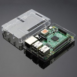 BOITIER TRANSPARENT RASPBERRY PI2