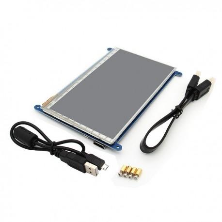 """ECRAN TACTILE 7"""" RASPBERRY PI2, PI3, B, B+, A+, B / HDMI"""