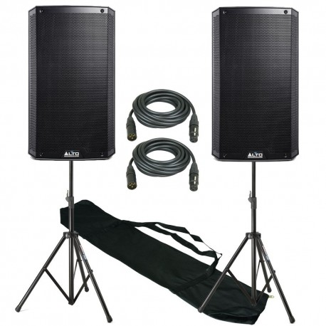 LOCATION ENCEINTE ALTO 550Watts X 2 +  BLUETOOTH