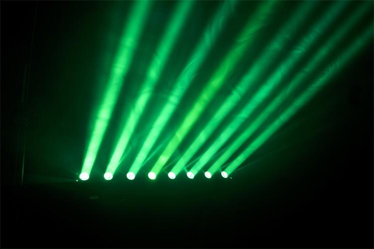 BARRE A LEDS RGBW 8 X 10W AFX