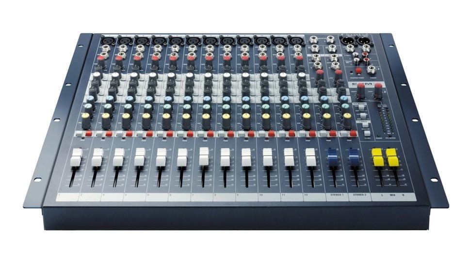 CONSOLE SOUNDCRAFT 12 PISTES