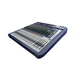 CONSOLE SOUNDCRAFT SIGNATURE16 12MIC + 4 DEPARTS