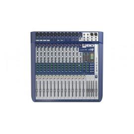 CONSOLE SOUNDCRAFT SIGNATURE16 12MIC + 4 DEPARTS