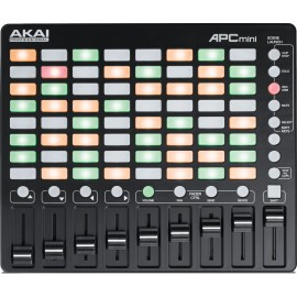 CONTROLEUR AKAI 8X8 PADS + 9 FADERS APCMINI - rer electronic