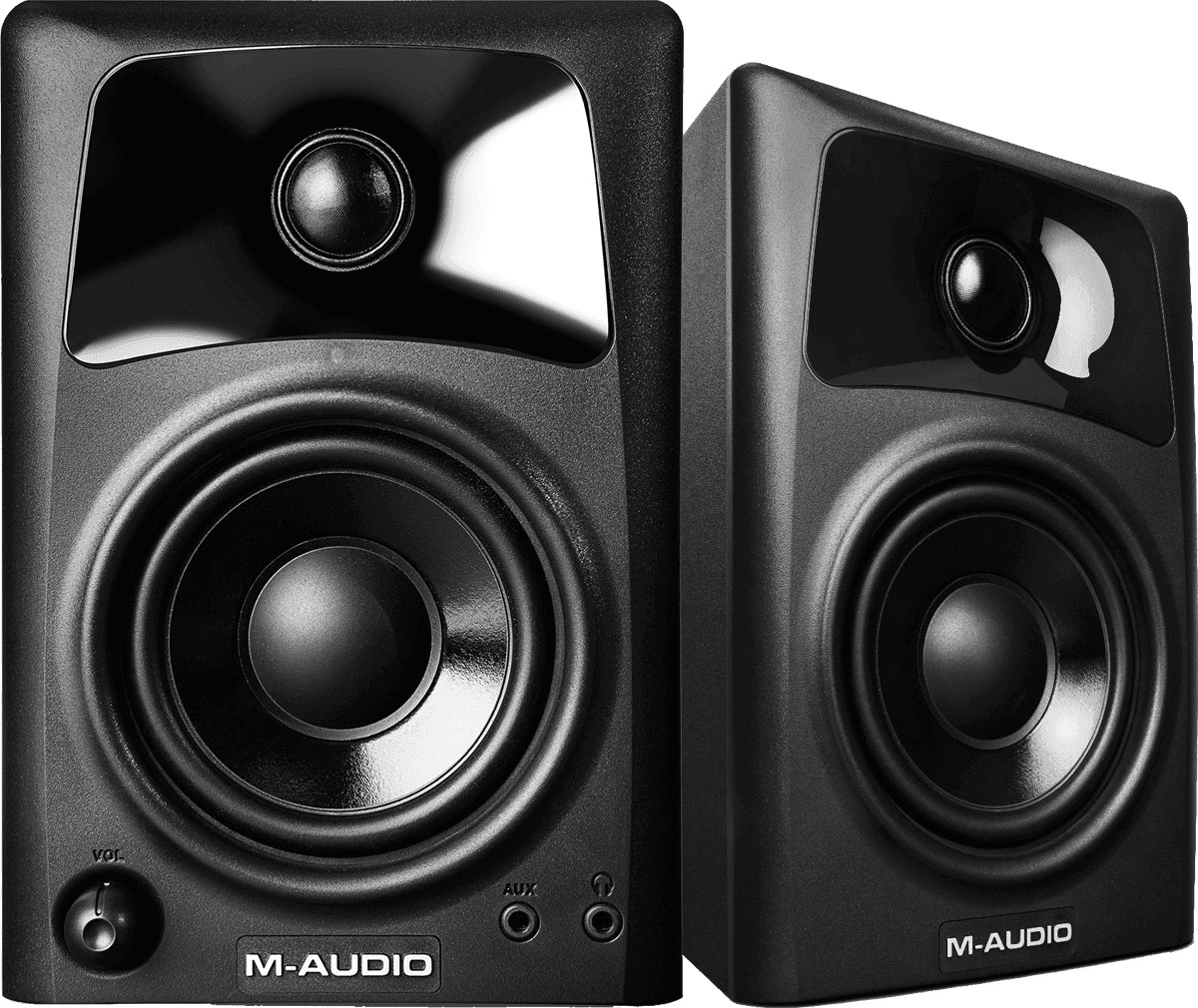 MONITEUR STUDIO M AUDIO 2X10W
