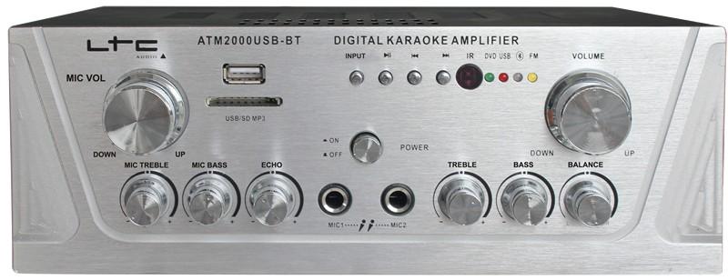 AMPLI KARAOKE 2X50W BLUETOOTH