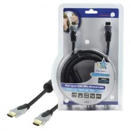 Câble HDMI avec Ethernet haute vitesse 3m