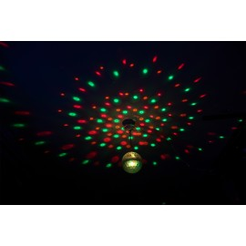 EFFET DE LUMIERE RGBWA 20CM ASTRO CRYSTAL