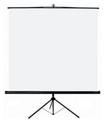 LOCATION ECRAN DE VIDEO-PROJECTION 200X200 SUR PIED