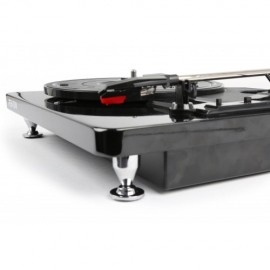 Platine disque Piano FENTON  finition noir  chrome