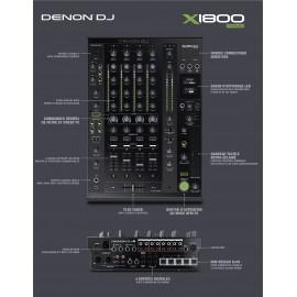 MIXAGE DENON DJ X1800PRIME