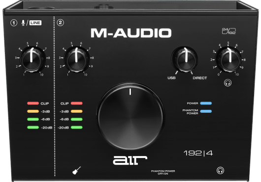 CARTE SON M-AUDIO RMD AIR192X4