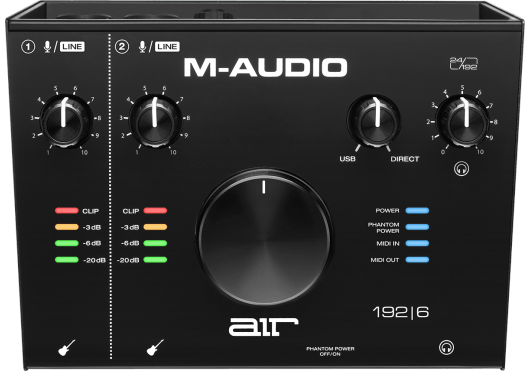 CARTE SON M-AUDIO  AIR192X6 MIDI