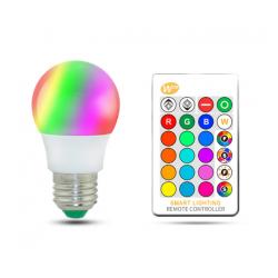LAMPE E27 10W RVB LED...