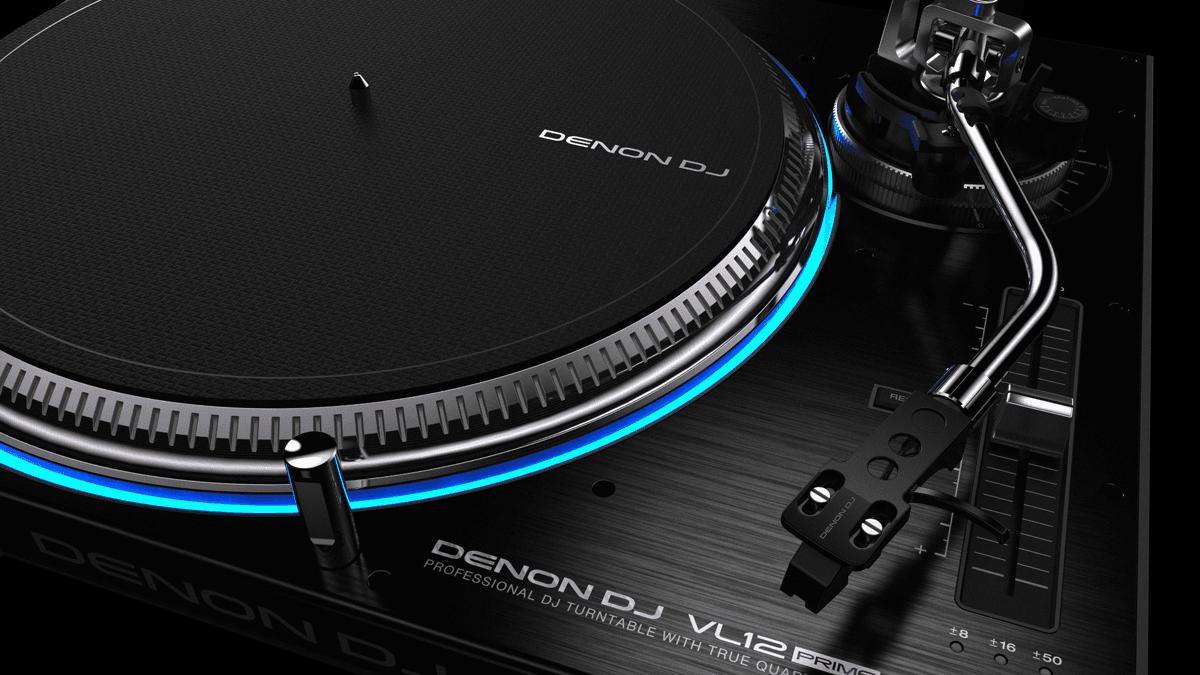 PLATINE VINYLE DJ DENON Entraînement direct, 5kg / cm²