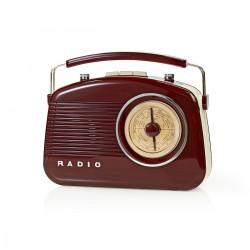 RADIO RETRO MARRON