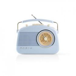 RADIO RETRO BLEU CIEL