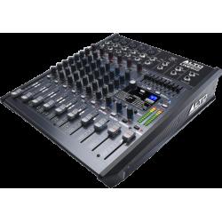 MIXAGE ALTO 8 PISTES + EFFETS LIVE802 - rer electronic
