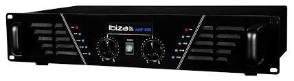 AMPLIFICATEUR DE SONORISATION IBIZA 2 X 300W