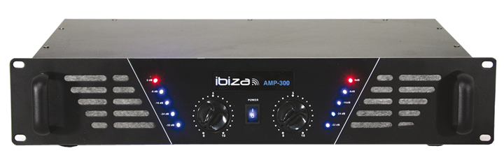 AMPLIFICATEUR DE SONORISATION IBIZA 2 X 150W