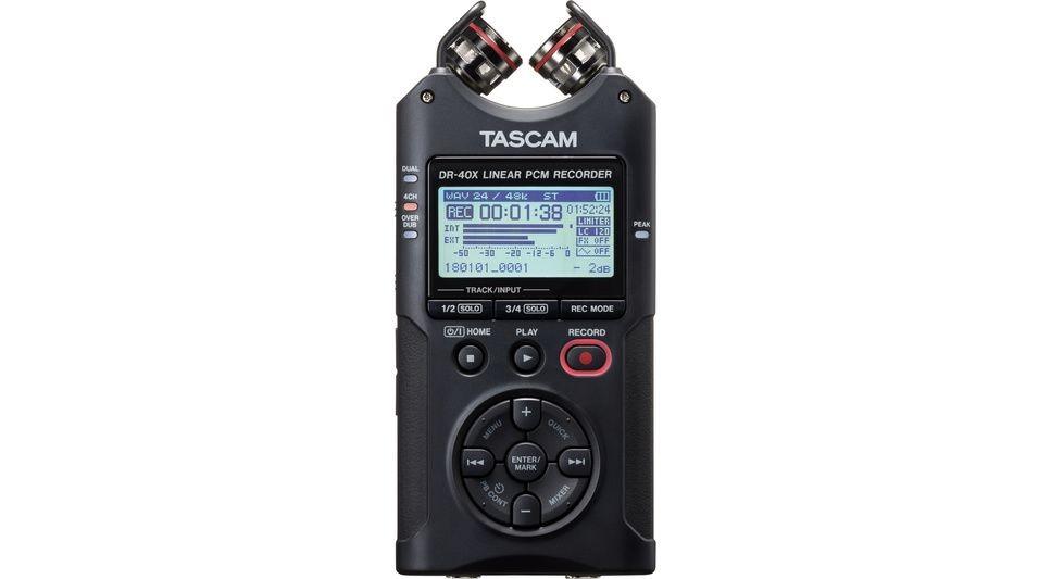 ENREGISTREUR DR40X TASCAM 4 PISTES