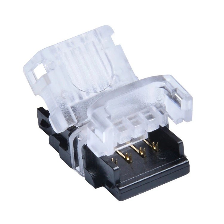 CONNECTEUR RUBAN A LED SANS SOUDURE 4PIN