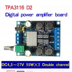 MODULE AMPLI CLASS D 2X50W...