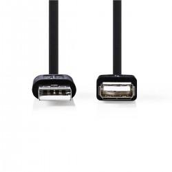 CORDON USB 2.0 M/F 2M