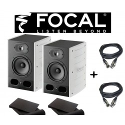PACK 2 ENCEINTES MONITORING FOCAL ALPHA50 BLANCHE ALPHA50X2 - rer electronic