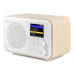 RADIO INTERNET WIFI SUR BATTERIE COULEUR BOIS CLAIR 102.218 - rer electronic