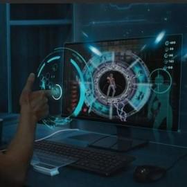 SOURIS VIRTUELLE 3D CONTRÔLE PC LEAP MOTION