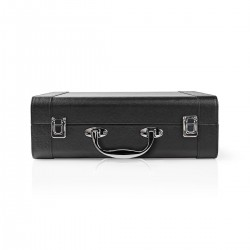 PLATINE VINYLE VALISE RETRO RECHARGEABLE MAD-RETROCASE-CR - rer electronic
