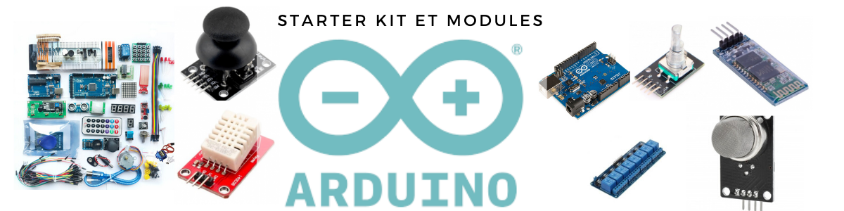 Divers modules et kits pour Arduino !