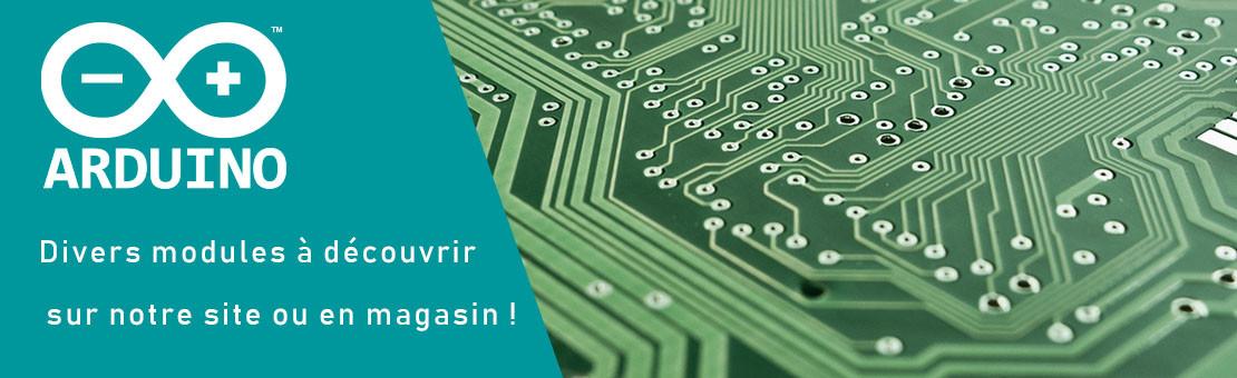 Divers modules et kits pour Arduino !